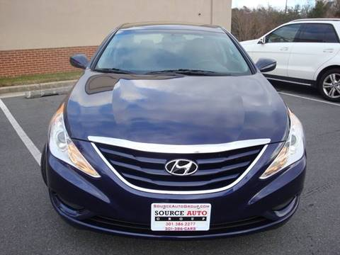 2013 Hyundai Sonata for sale at Source Auto Group in Lanham MD