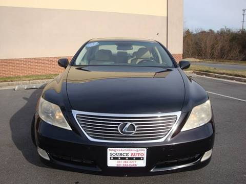 2008 Lexus LS 460 for sale at Source Auto Group in Lanham MD