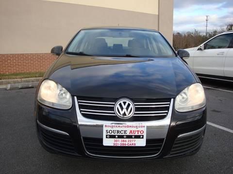 2008 Volkswagen Jetta for sale at Source Auto Group in Lanham MD