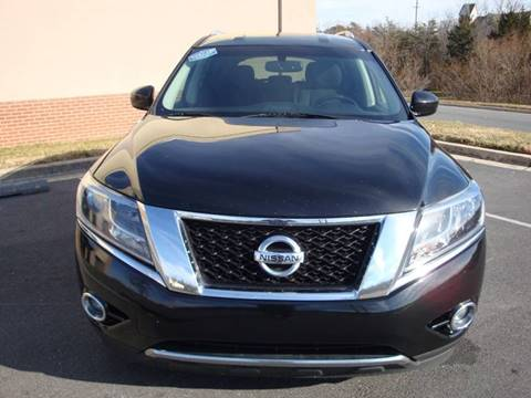 2015 Nissan Pathfinder for sale at Source Auto Group in Lanham MD