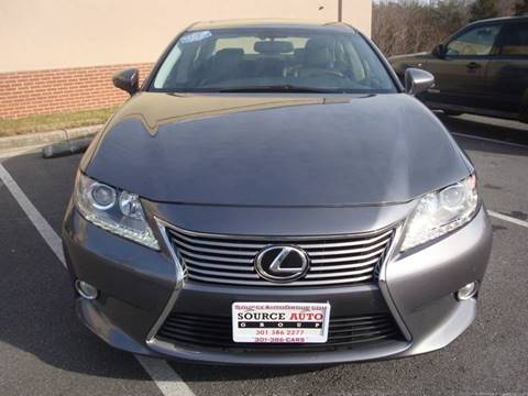 2013 Lexus ES 350 for sale at Source Auto Group in Lanham MD