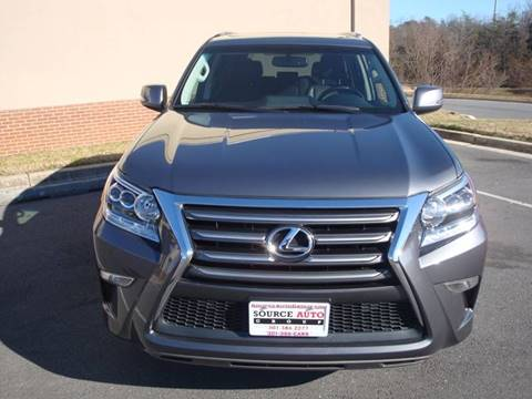 2016 Lexus GX 460 for sale at Source Auto Group in Lanham MD