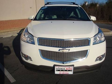 2011 Chevrolet Traverse for sale at Source Auto Group in Lanham MD