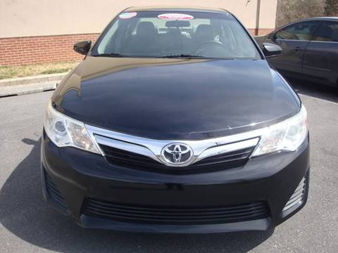 2012 Toyota Camry for sale at Source Auto Group in Lanham MD