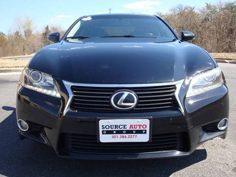 2013 Lexus GS 350 for sale at Source Auto Group in Lanham MD