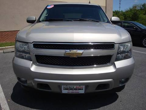 2008 Chevrolet Tahoe for sale at Source Auto Group in Lanham MD