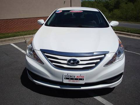 2014 Hyundai Sonata for sale at Source Auto Group in Lanham MD