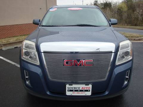 2012 GMC Terrain for sale at Source Auto Group in Lanham MD