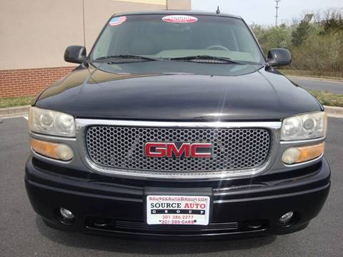 2006 GMC Yukon XL for sale at Source Auto Group in Lanham MD