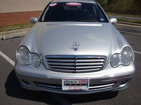 2007 Mercedes-Benz C-Class for sale at Source Auto Group in Lanham MD