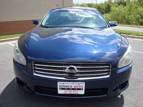 2009 Nissan Maxima for sale at Source Auto Group in Lanham MD