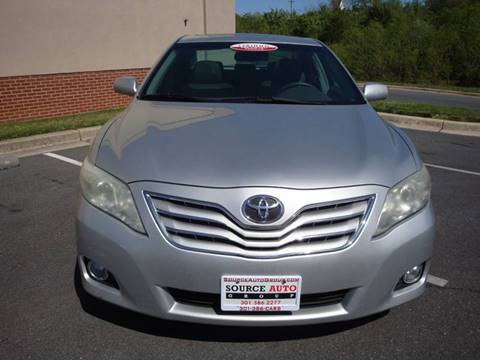 2010 Toyota Camry for sale at Source Auto Group in Lanham MD
