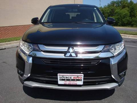 2017 Mitsubishi Outlander for sale at Source Auto Group in Lanham MD