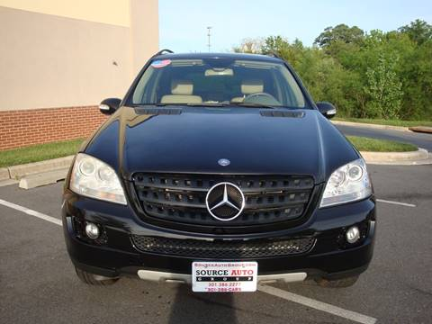 2006 Mercedes-Benz M-Class for sale at Source Auto Group in Lanham MD