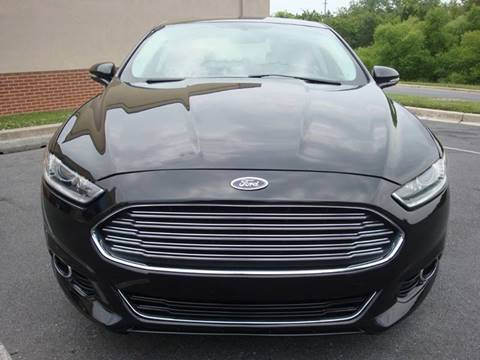 2014 Ford Fusion for sale at Source Auto Group in Lanham MD