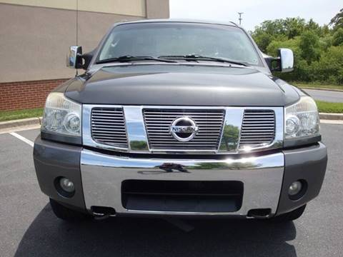 2006 Nissan Titan for sale at Source Auto Group in Lanham MD