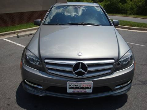 2011 Mercedes-Benz C-Class for sale at Source Auto Group in Lanham MD