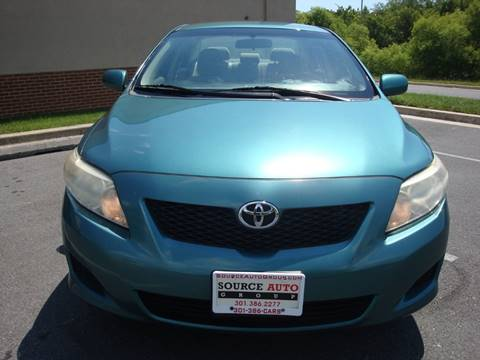 2010 Toyota Corolla for sale at Source Auto Group in Lanham MD