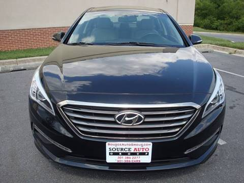 2015 Hyundai Sonata for sale at Source Auto Group in Lanham MD