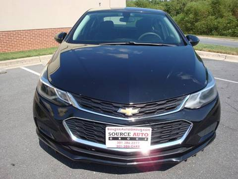 2017 Chevrolet Cruze for sale at Source Auto Group in Lanham MD