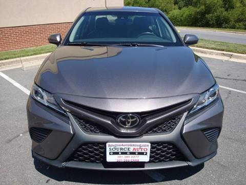 2018 Toyota Camry for sale at Source Auto Group in Lanham MD
