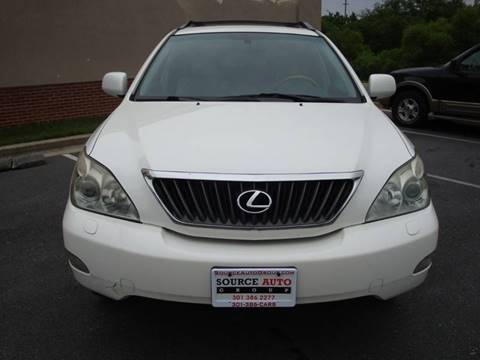 2009 Lexus RX 350 for sale at Source Auto Group in Lanham MD
