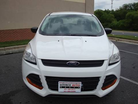 2015 Ford Escape for sale at Source Auto Group in Lanham MD