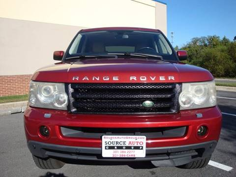 2008 Land Rover Range Rover Sport for sale at Source Auto Group in Lanham MD