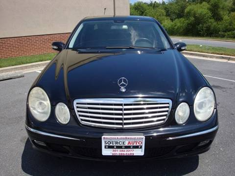 2006 Mercedes-Benz E-Class for sale at Source Auto Group in Lanham MD