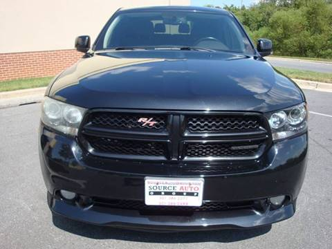 2011 Dodge Durango for sale at Source Auto Group in Lanham MD