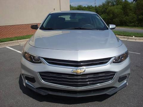 2016 Chevrolet Malibu for sale at Source Auto Group in Lanham MD