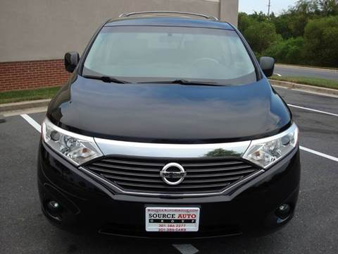 2015 Nissan Quest for sale at Source Auto Group in Lanham MD