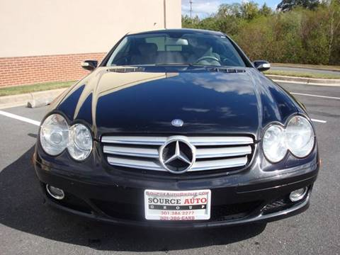 2007 Mercedes-Benz SL-Class for sale at Source Auto Group in Lanham MD