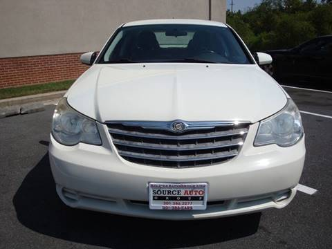 2010 Chrysler Sebring for sale at Source Auto Group in Lanham MD