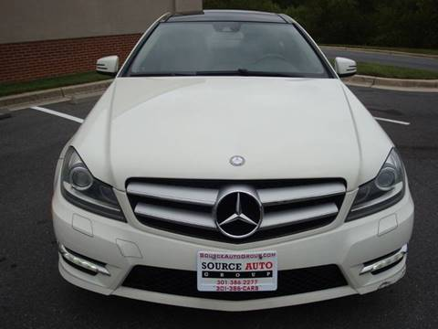 2012 Mercedes-Benz C-Class for sale at Source Auto Group in Lanham MD