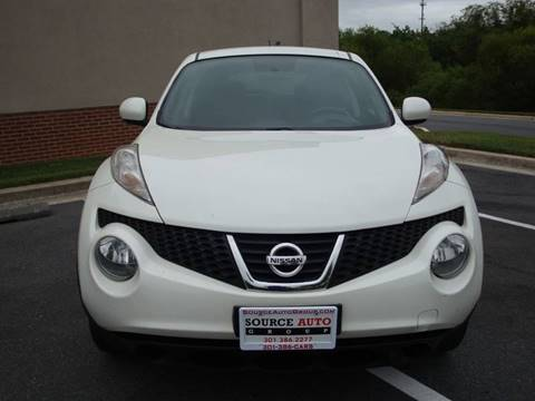 2014 Nissan JUKE for sale at Source Auto Group in Lanham MD