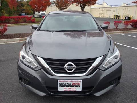 2016 Nissan Altima for sale at Source Auto Group in Lanham MD