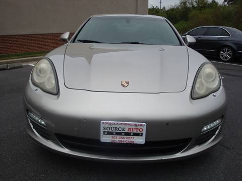 2010 Porsche Panamera for sale at Source Auto Group in Lanham MD