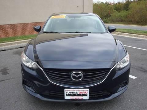 2015 Mazda MAZDA6 for sale at Source Auto Group in Lanham MD