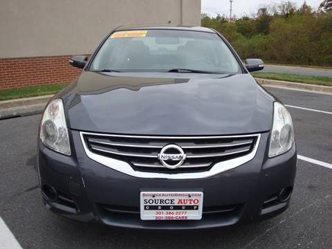 2012 Nissan Altima for sale at Source Auto Group in Lanham MD
