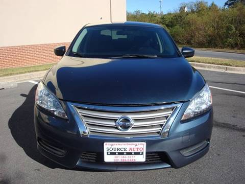 2015 Nissan Sentra for sale at Source Auto Group in Lanham MD