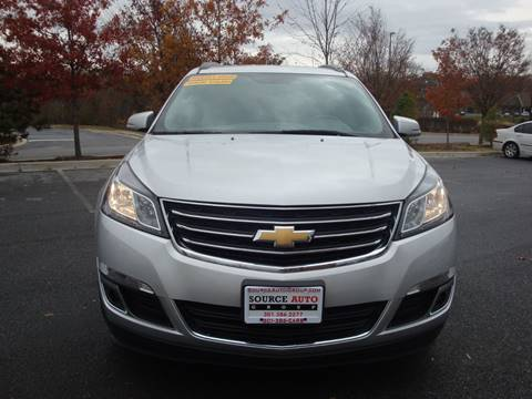 2017 Chevrolet Traverse for sale at Source Auto Group in Lanham MD
