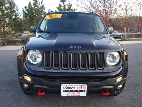 2015 Jeep Renegade for sale at Source Auto Group in Lanham MD