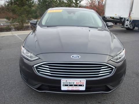 2019 Ford Fusion for sale at Source Auto Group in Lanham MD