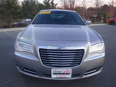 2014 Chrysler 300 for sale at Source Auto Group in Lanham MD