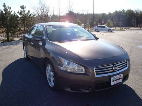 2012 Nissan Maxima for sale at Source Auto Group in Lanham MD