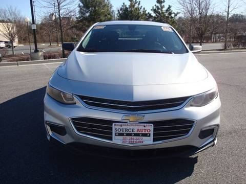 2017 Chevrolet Malibu for sale at Source Auto Group in Lanham MD