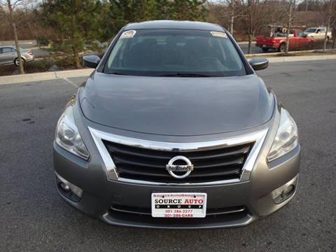 2015 Nissan Altima for sale at Source Auto Group in Lanham MD