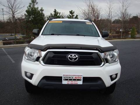 2015 Toyota Tacoma for sale at Source Auto Group in Lanham MD