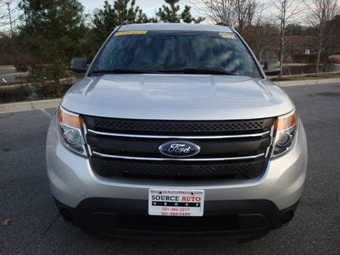 2015 Ford Explorer for sale at Source Auto Group in Lanham MD